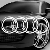 Dekaler i kategori Motor: Dekal Audi