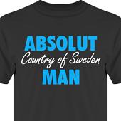 T-shirt, Hoodie i kategori Attityd: Absolut Man