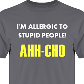 T-shirt, Hoodie i kategori Attityd: Ahh-Cho