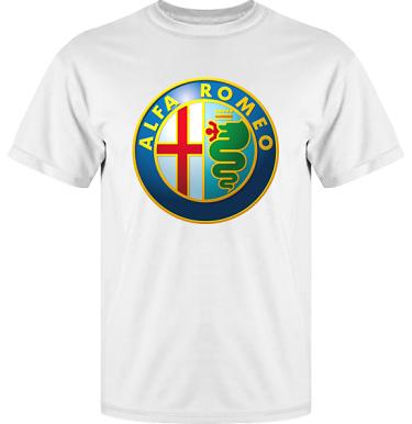 T-shirt Vapor i kategori Motor: Alfa Romeo