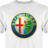 T-shirt, Hoodie i kategori Motor: Alfa Romeo