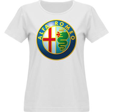 T-shirt Vapor Dam  i kategori Motor: Alfa Romeo
