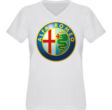 T-shirt XP522 Dam i kategori Motor: Alfa Romeo