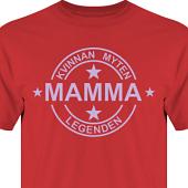 T-shirt, Hoodie i kategori Familj/Kärlek: Myten Legenden Mamma