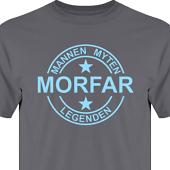 T-shirt, Hoodie i kategori Familj/Kärlek: Myten Legenden Morfar