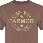 T-shirt, Hoodie i kategori Familj/Kärlek: Myten Legenden Farmor