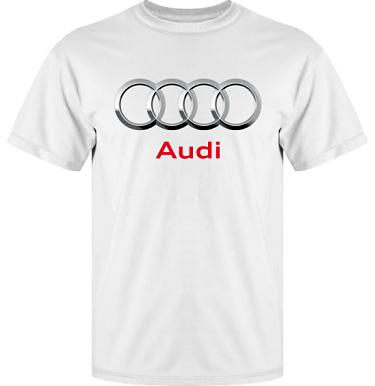 T-shirt Vapor i kategori Motor: Audi