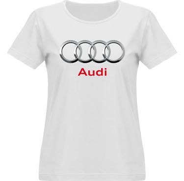 T-shirt Vapor Dam  i kategori Motor: Audi
