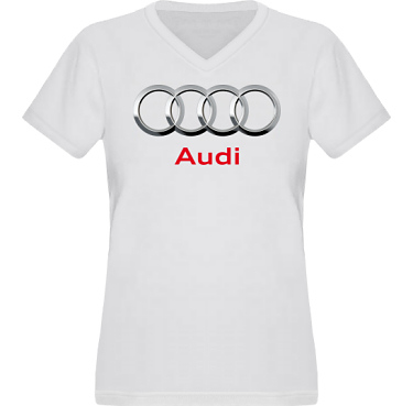 T-shirt XP522 Dam  i kategori Motor: Audi