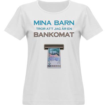 T-shirt Vapor Dam  i kategori Familj/Kärlek: Bankomat