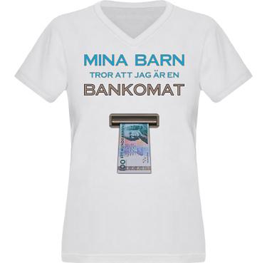 T-shirt XP522 Dam i kategori Familj/Kärlek: Bankomat