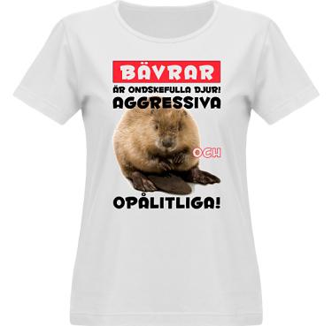 T-shirt Vapor Dam  i kategori Attityd: Evil Beaver