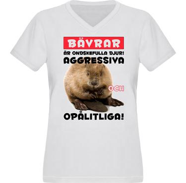 T-shirt XP522 Dam i kategori Attityd: Evil Beaver