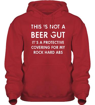 Hood HeavyBlend Röd/Vitt tryck i kategori Alkohol: Not a beer gut