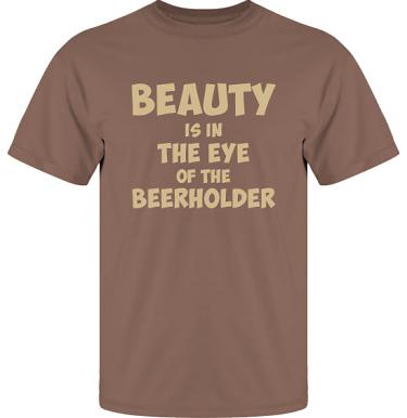 T-shirt UltraCotton Nougat/Sandfärgat tryck i kategori Alkohol: Beerholder