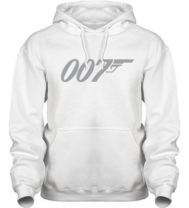 Hood HeavyBlend Vit/Grått tryck i kategori Film/TV: Bond