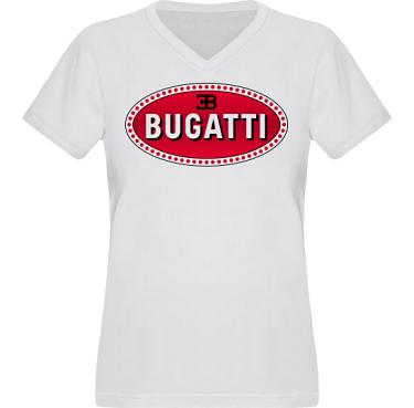 T-shirt XP522 Dam  i kategori Motor: Bugatti