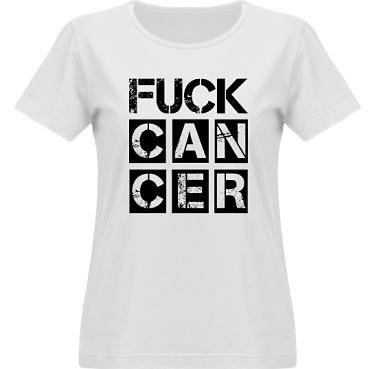 T-shirt Vapor Dam  i kategori Attityd: Fuck Cancer