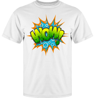 T-shirt Vapor i kategori Film/TV: Wow