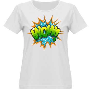 T-shirt Vapor Dam  i kategori Film/TV: Wow