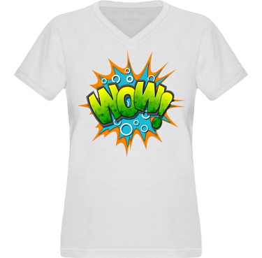 T-shirt XP522 Dam i kategori Film/TV: Wow