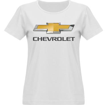 T-shirt Vapor Dam  i kategori Motor: Chevrolet