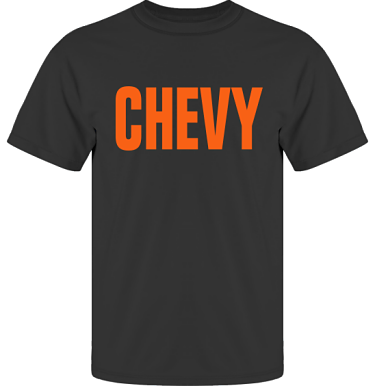 T-shirt UltraCotton Svart/Orange tryck i kategori Motor: Chevy