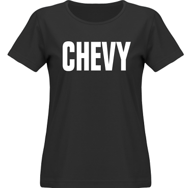T-shirt SouthWest Dam Svart/Vitt tryck i kategori Motor: Chevy