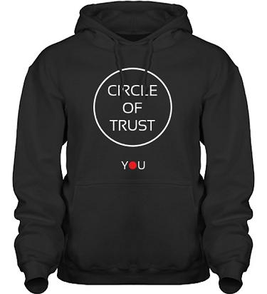 Hood HeavyBlend Svart i kategori Attityd: Circle of Trust