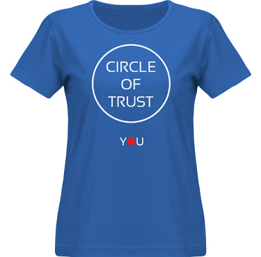 T-shirt SouthWest Dam Royalblå i kategori Attityd: Circle of Trust
