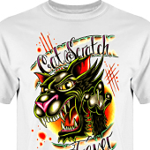 T-shirt, Hoodie i kategori Tattoo: Cat Scratch Fever