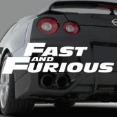 Dekaler i kategori Motor: Dekal Fast and Furious