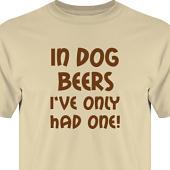 T-shirt, Hoodie i kategori Alkohol: In dog beers