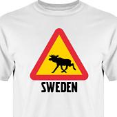 T-shirt, Hoodie i kategori Blandat: Swedish Elk
