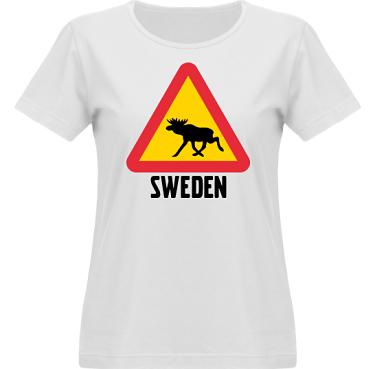 T-shirt Vapor Dam  i kategori Blandat: Swedish Elk