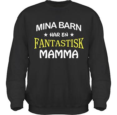 Sweatshirt HeavyBlend Svart i kategori Familj/Kärlek: Fantastisk Mamma