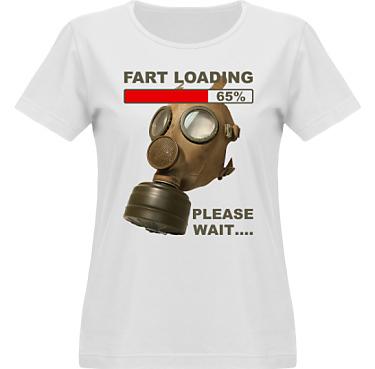 T-shirt Vapor Dam  i kategori Blandat: Fart Loading