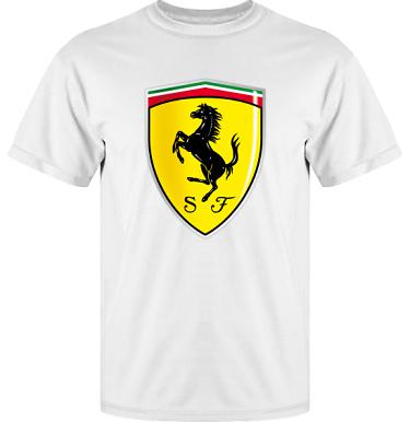 T-shirt Vapor i kategori Motor: Ferrari