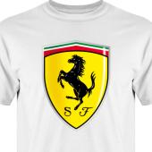 T-shirt, Hoodie i kategori Motor: Ferrari