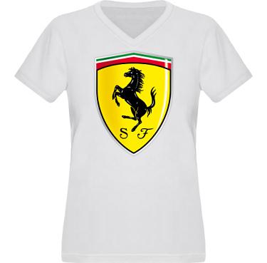 T-shirt XP522 Dam i kategori Motor: Ferrari