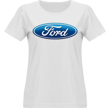 T-shirt Vapor Dam  i kategori Motor: Ford