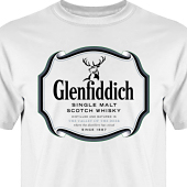 T-shirt, Hoodie i kategori Alkohol: Glenfiddich Whisky