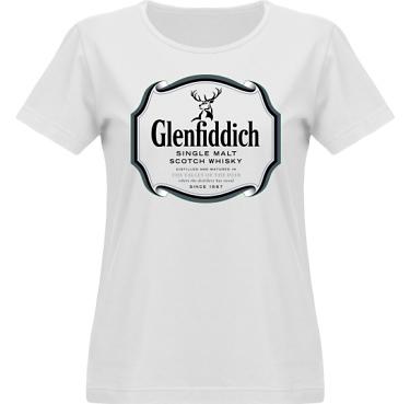 T-shirt Vapor Dam  i kategori Alkohol: Glenfiddich Whisky