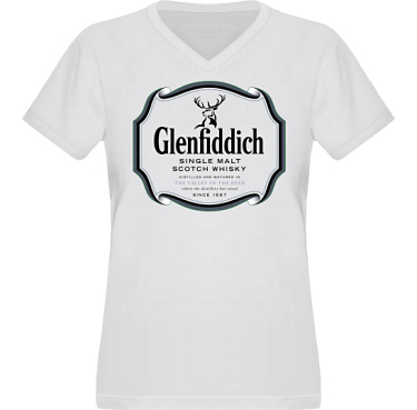 T-shirt XP522 Dam  i kategori Alkohol: Glenfiddich Whisky
