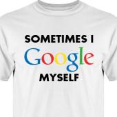 T-shirt, Hoodie i kategori Blandat: I Google myself