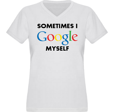 T-shirt XP522 Dam i kategori Blandat: I Google myself