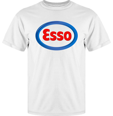 T-shirt Vapor i kategori Motor: Esso