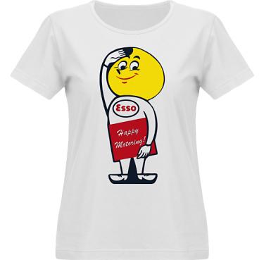 T-shirt Vapor Dam  i kategori Motor: Esso Oil Drop Man