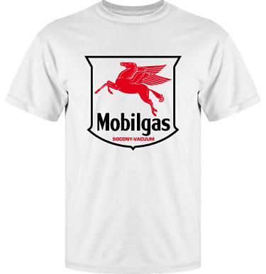 T-shirt Vapor i kategori Motor: Mobilgas