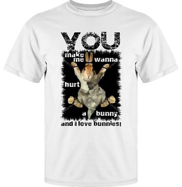 T-shirt Vapor i kategori Attityd: Hurt A Bunny